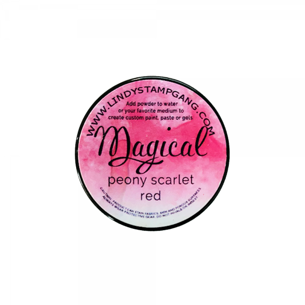 Magical Powder 'Peony Scarlet Red'