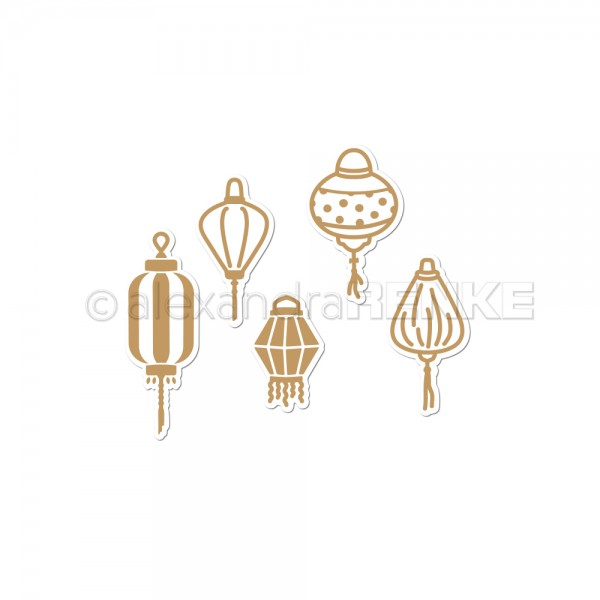 Glamour Plate 'Lampion Set'