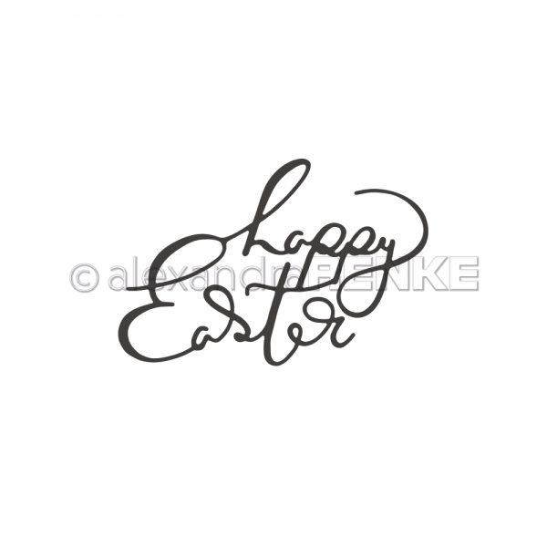 S'-Die 'Happy Easter Typo'