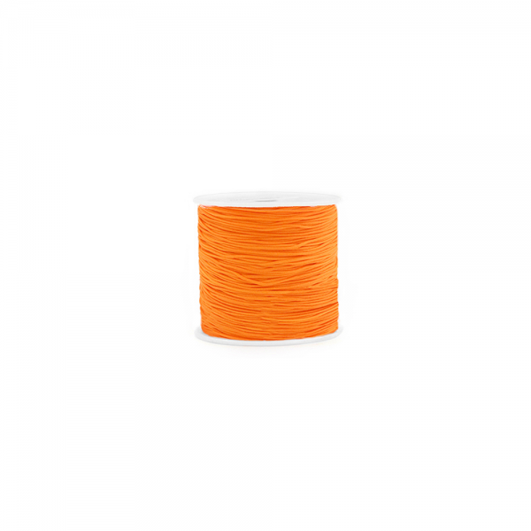 Makramee Kordel 0,8 mm 'Mandarin Orange' /Meterware