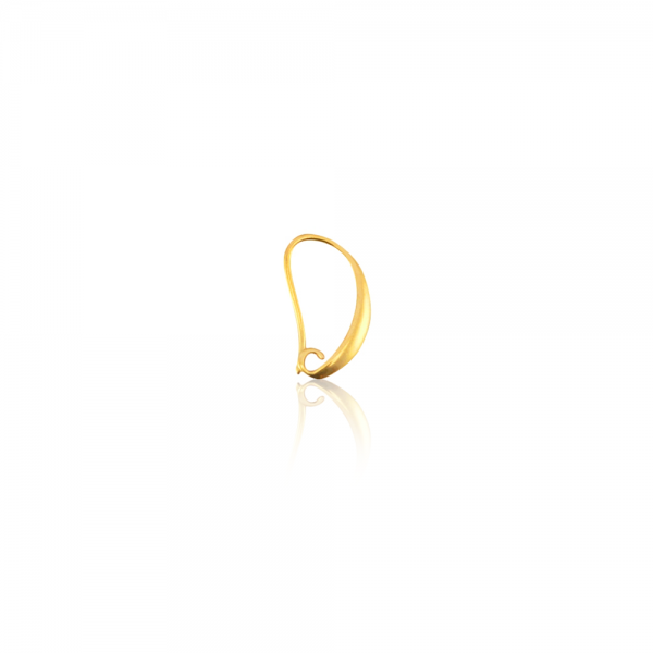 Ohrring Gold 17 mm