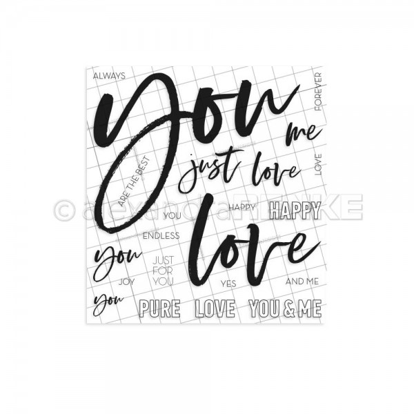 Clear Stamp 'Lettering YOU'