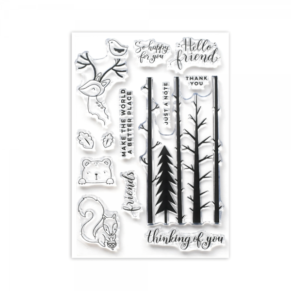 Clear stamp 'Forest Friends'