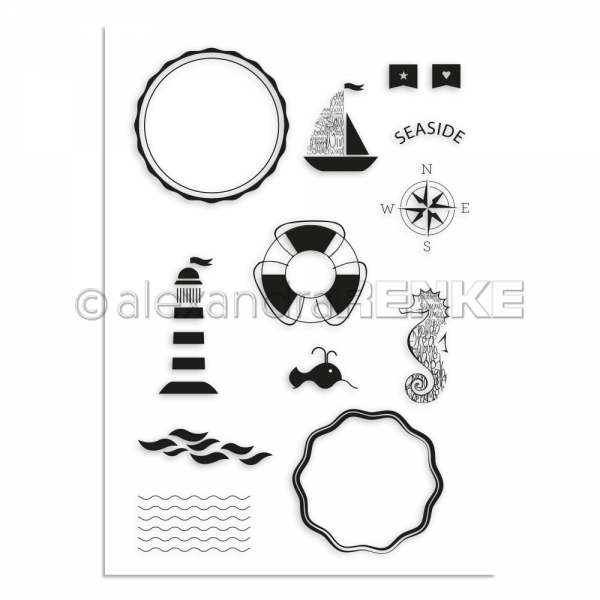 S'-Clear Stamp 'An der See'