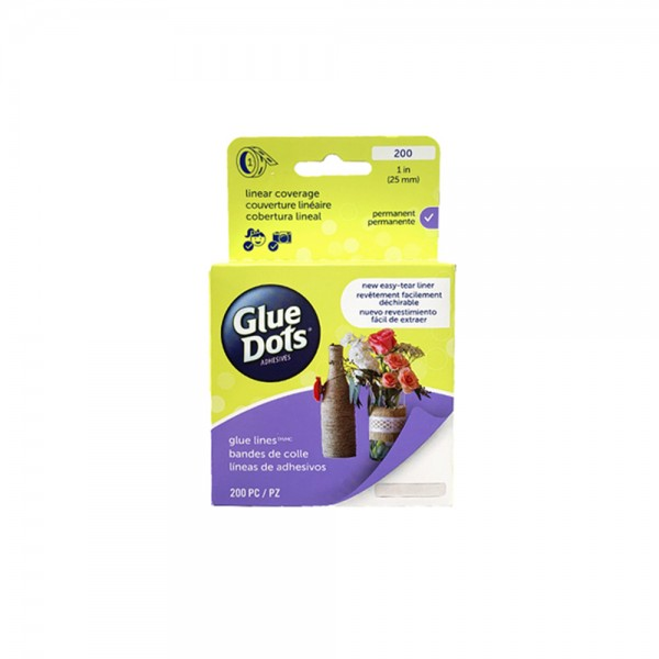 Clear Glue Dots 'Lines'