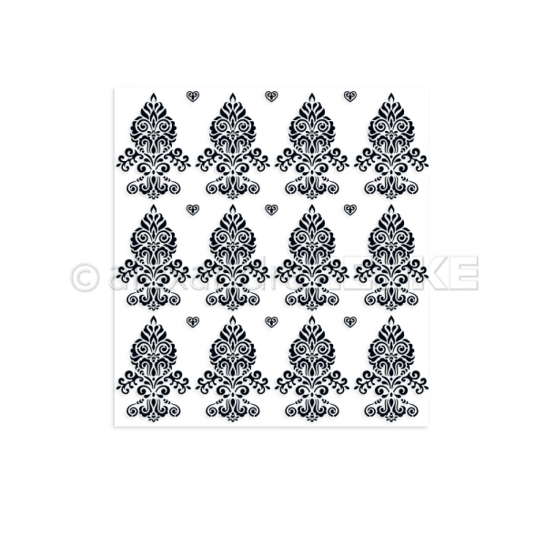 S'-Clear Stamp 'Pattern florales Ornament'