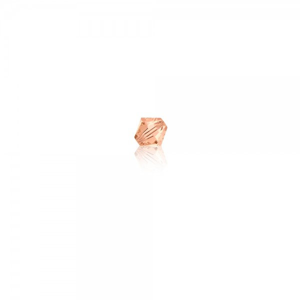 Swarovski-Perle 'Xilion Bead - Light Peach' 4 mm