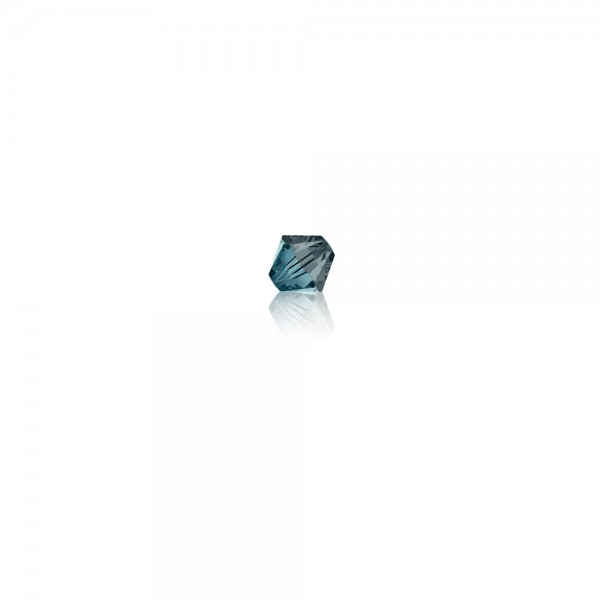Swarovski-Perle 'Xilion Bead - Indian Sapphire Satin' 4 mm