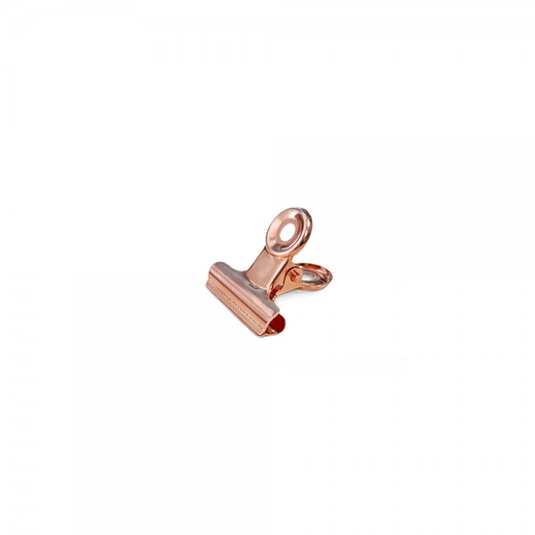 Office Clips 'Rosegold small' 22mm