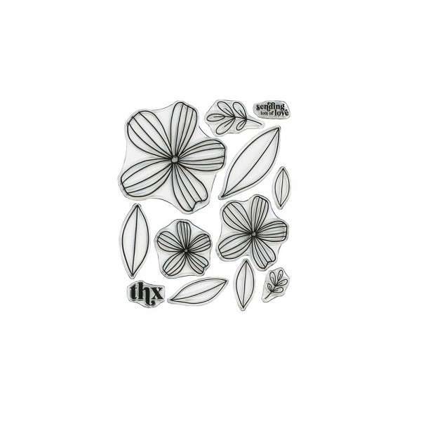 Clear Stamp 'Flirtatious Flowers'