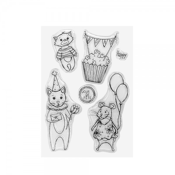 Clear Stamp Set 'Happy Birthday'