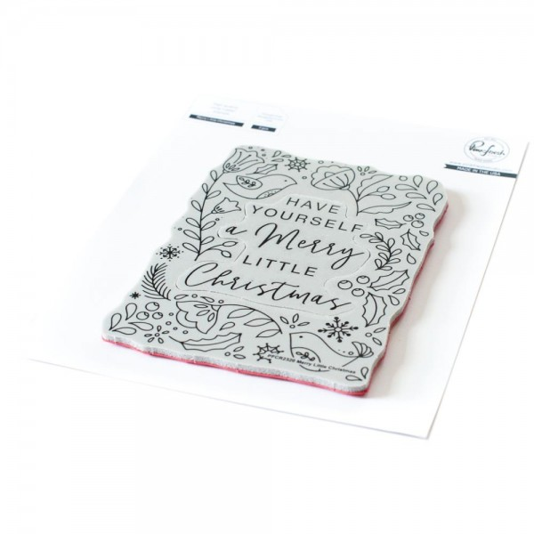 Cling Stamp 'Merry Little Christmas'