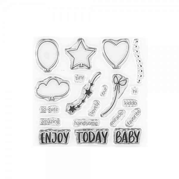 Clear Stamp 'Oh baby'