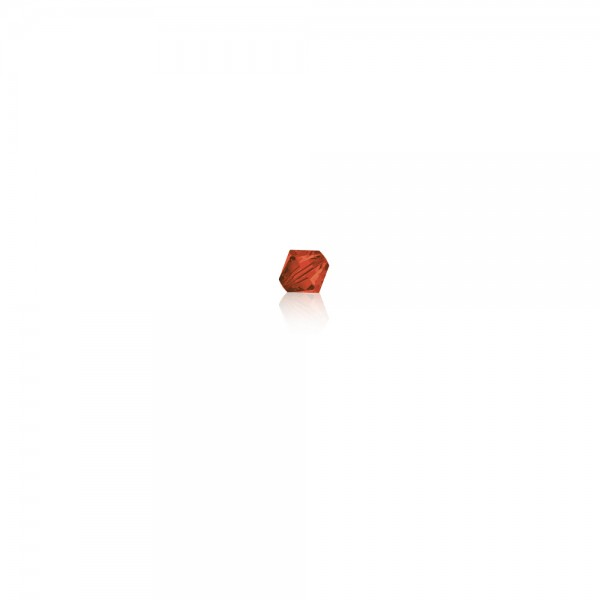 Swarovski-Perle 'Xilion Bead - Indian Red' 3 mm