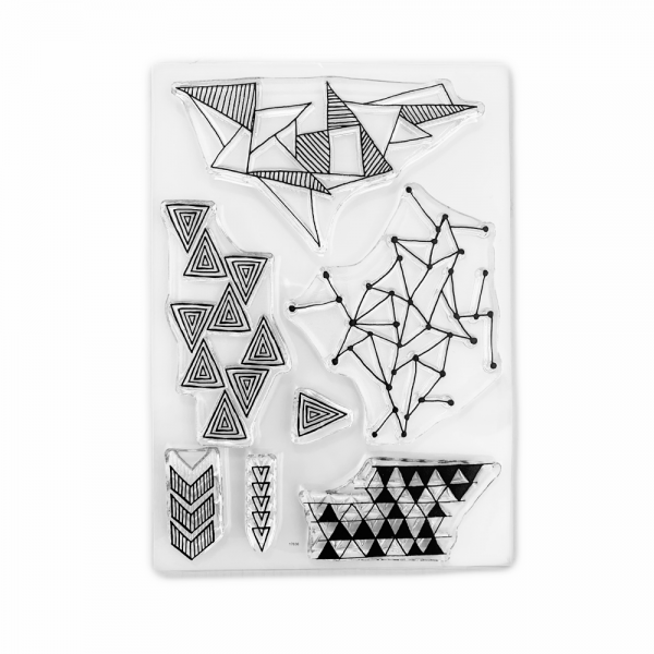 Clear Stamp Set 'Triangles'