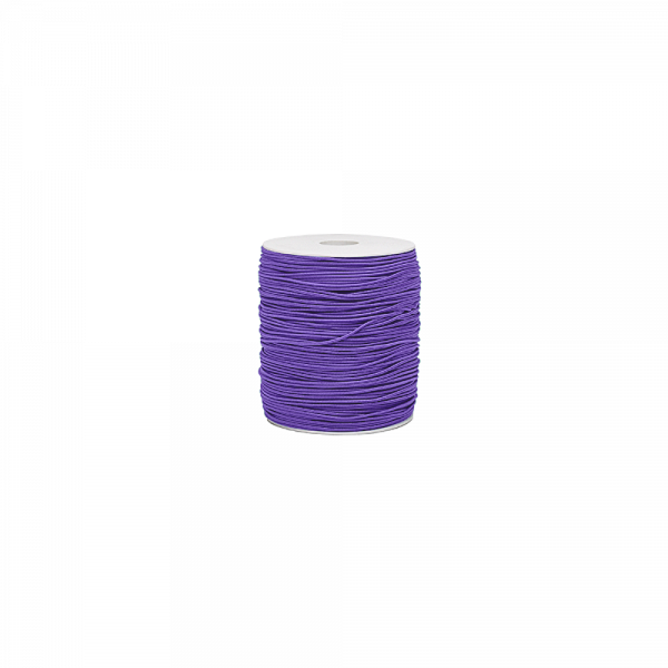 Gummiband 'Purple' 1,5mm