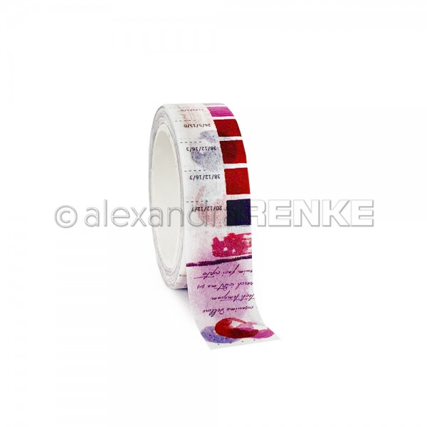 Washi Tape 'Berry Color Proof'