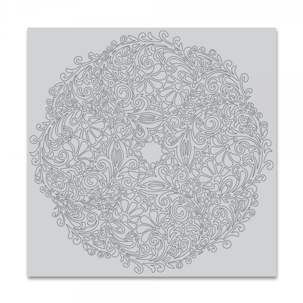 Cling Stamp 'Floral Doily Bold Prints'