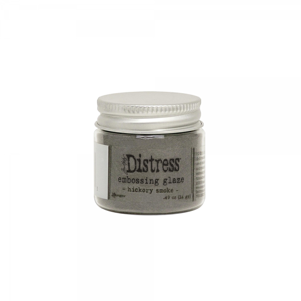 Distress Embossing Glaze 'Hickory Smoke'