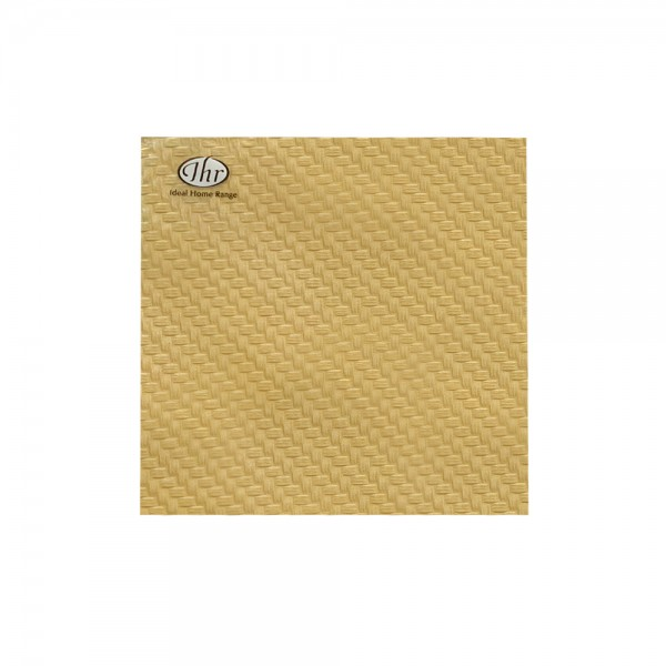 Serviette 'Tessutto Uni - Gold'