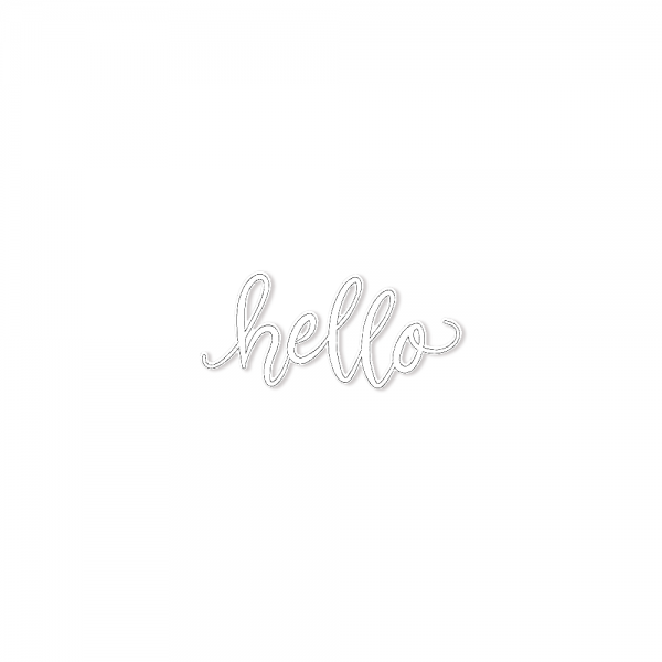 Dies 'Hello Message'