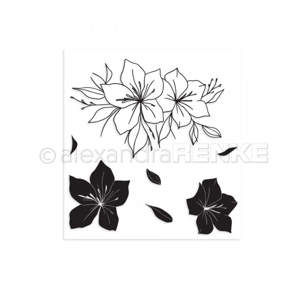 Clear Stamp 'Amaryllis'