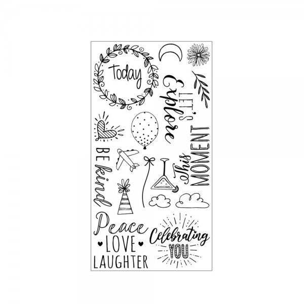 S'-Clear Stamp Set 'Everyday Sentiments'