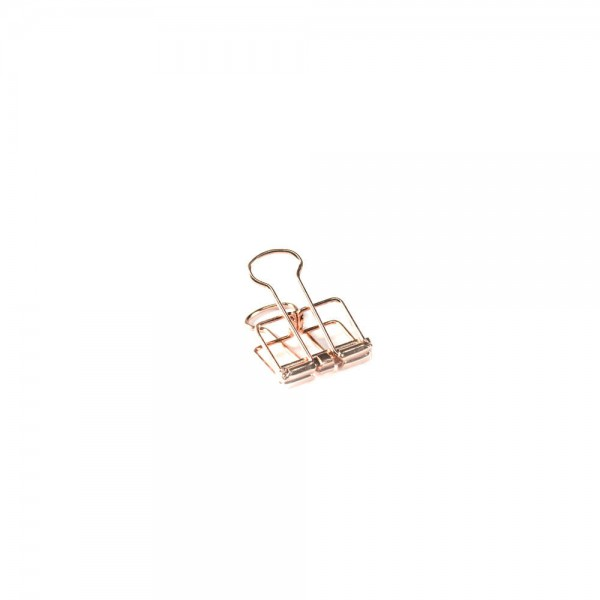 Binder Clips rose small