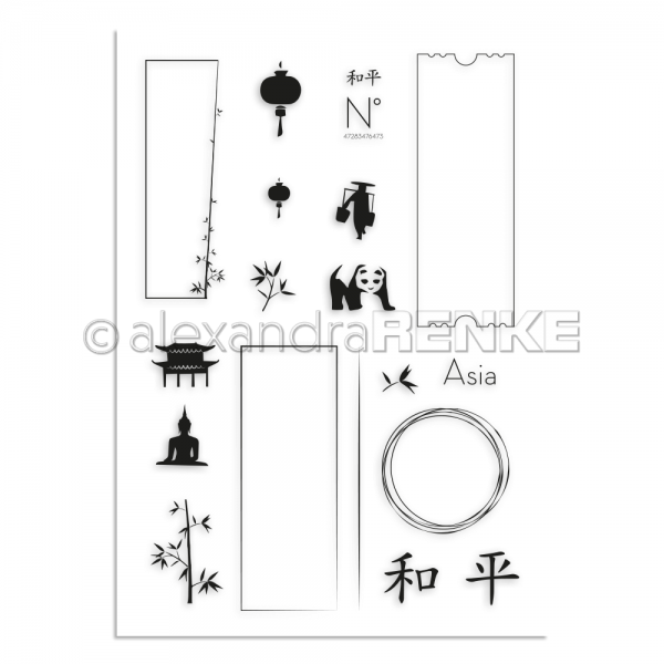 S'-Clear Stamp 'Asien'