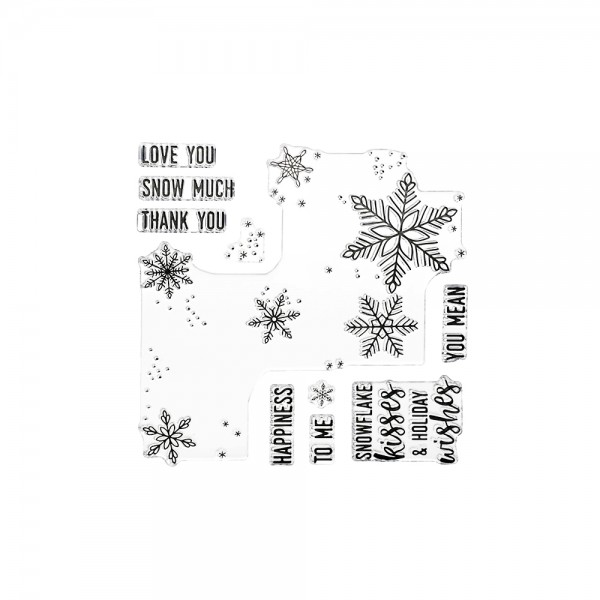 Clear Stamp 'Snowflakes Turnabout'
